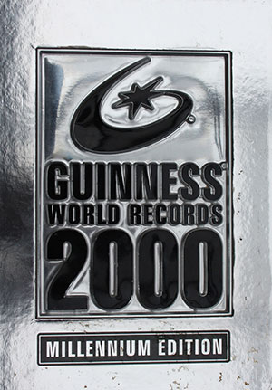 Guiness book of world records 2002