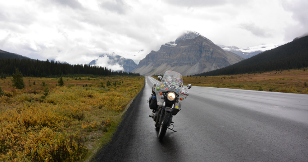 Longest journey by motorcycle in a single country (individual) 11