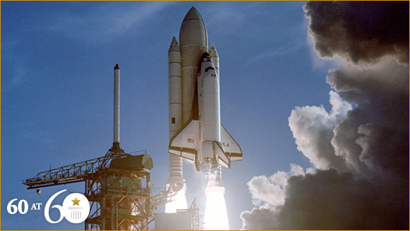 1981: First Space Shuttle Flight
