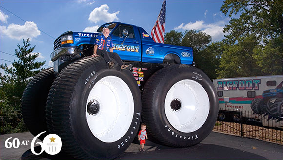 1986 largest monster truck guinness world records. Black Bedroom Furniture Sets. Home Design Ideas