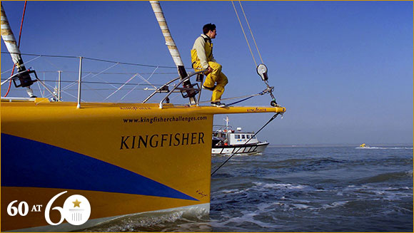 2001: Fastest Circumnavigation of the Globe by Sail