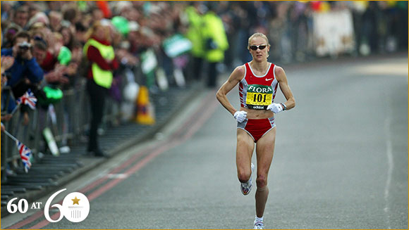 2003: Fastest Female Marathon Runner