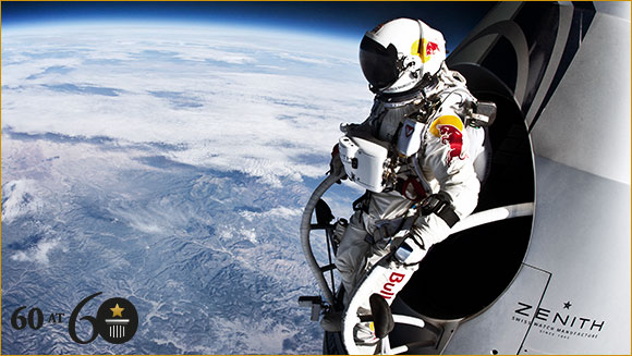 2012: Highest Freefall Parachute Jump