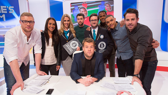 Freddie Flintoff and Jamie Redknapp aim for world record glory on tonight's episode of A League Of Their Own