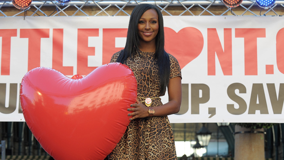 X Factor star Alexandra Burke helps set new organ donor record