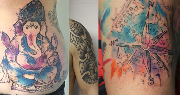 Alle Tattoo collage