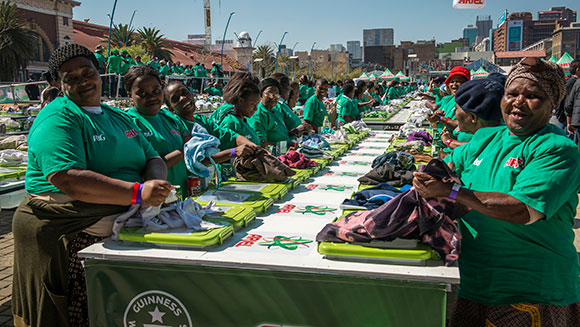 South Africa cleans up with new laundry world record