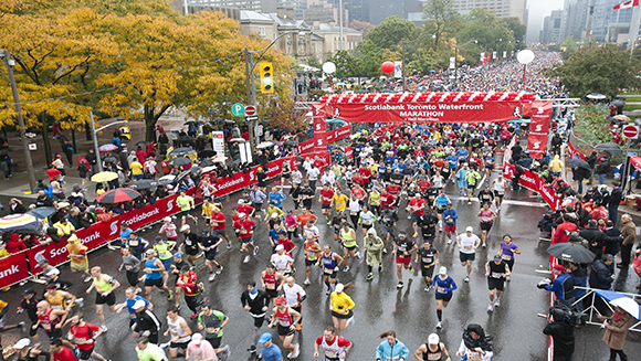 Three records look to fall at Scotiabank Toronto Waterfront Marathon