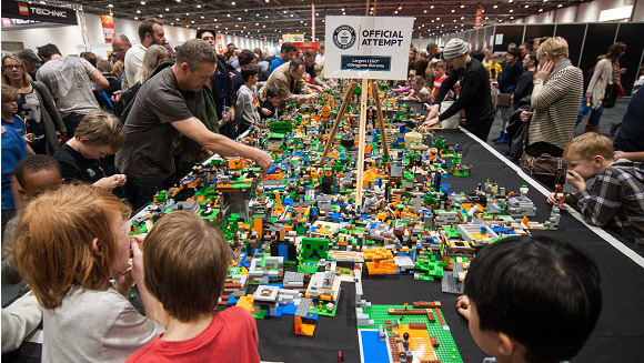 LEGO world records set to fall in London and Birmingham at BRICK 2015