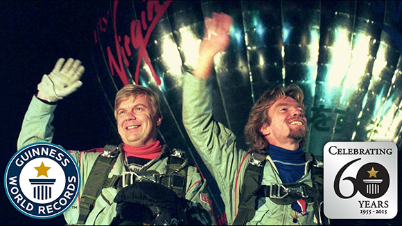 Video: Sir Richard Branson and Per Lindstrand recall achieving the first transatlantic crossing in a hot air balloon