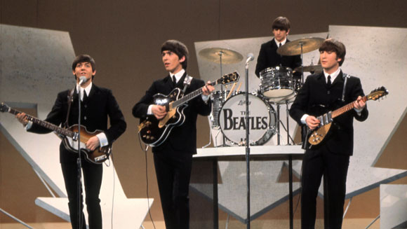 The Beatles US TV debut 50th anniversary: Top ten Fab Four records