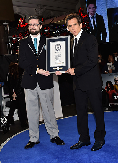 Ben Stiller and Mark McKinley