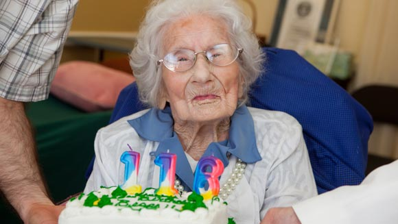 Happy birthday Besse Cooper! World's oldest living person turns 116