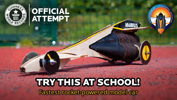 Bloodhound Project: How you can take part in a Guinness World Records title attempt for the fastest rocket-powered model car