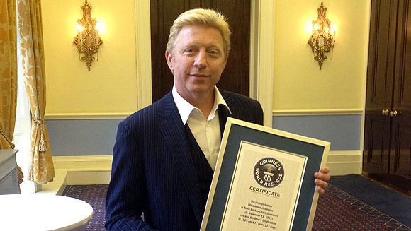 Boris Becker: How I became the youngest Wimbledon champion of all time - video