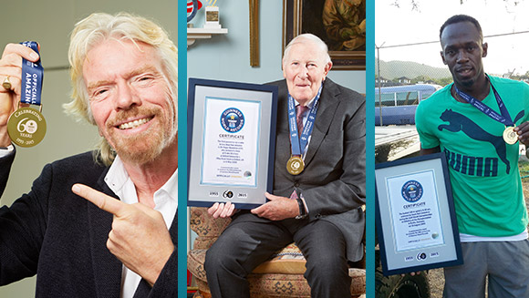 Legends unite to celebrate 60th anniversary of Guinness World Records
