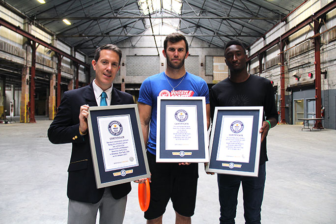 Brodie Smith GWR certificate presentation