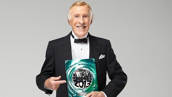 Sir Bruce Forsyth breaks TV career world record