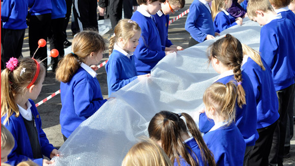 Mass Participation Monday: Everybody is popping bubble wrap