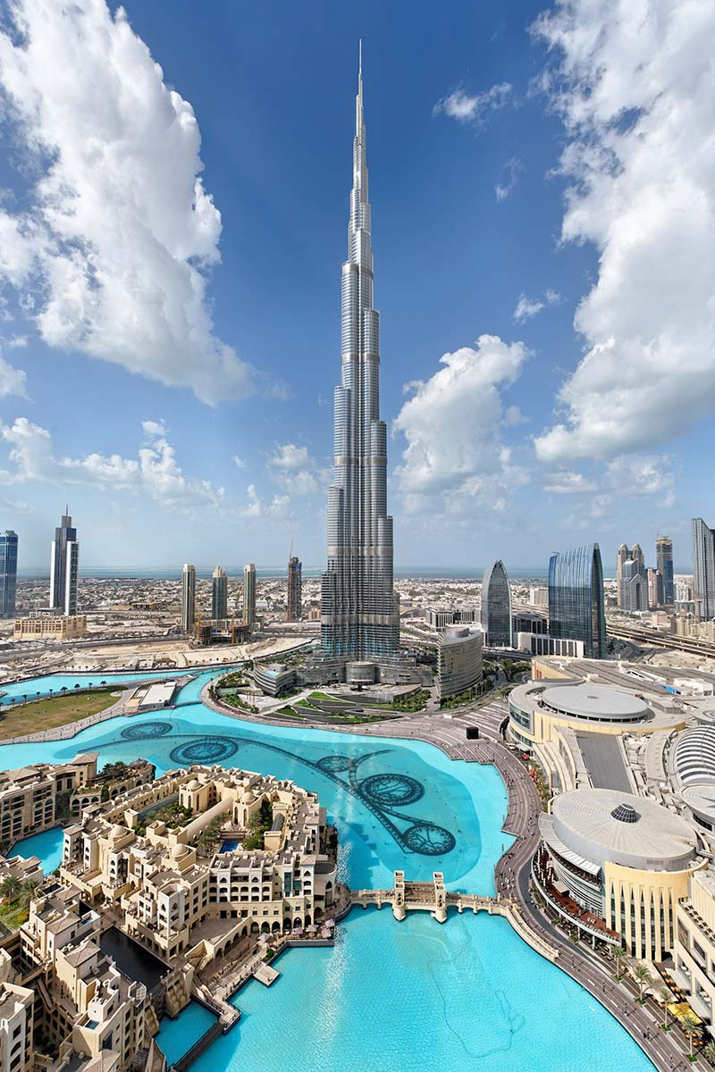 Burj khalifa the tallest building in the world guinness for Nearest hotel to dubai design district