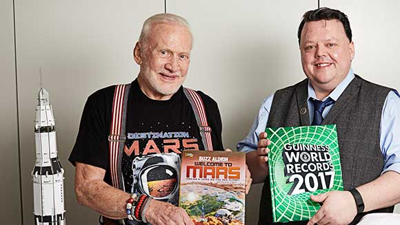Video: Buzz Aldrin talks Mars, the Moon and breaking records