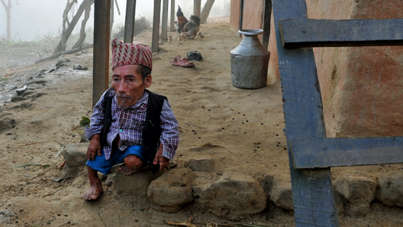 Shortest man: Guinness World Records adjudicators travel to Nepal to measure Chandra Bahadur Dangi