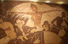 Largest coffee bean mosaic completed in Albania