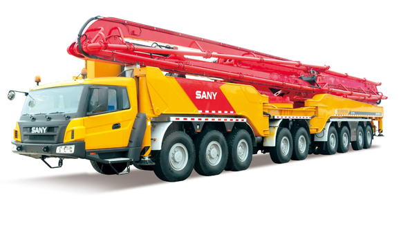 Longest crane arm record set by Chinese firm SANY