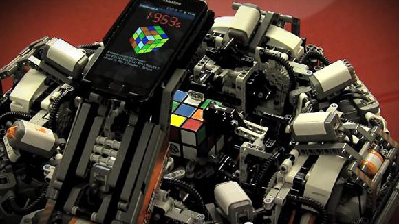 CubeStormer II - The Fastest Rubik's Cube Solving Robot  - Record holder profile video