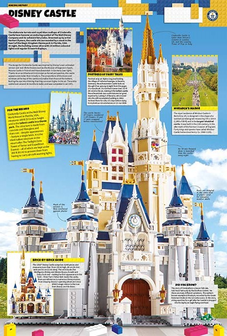 Win The Lego Disney Castle From Guinness World Records 2019