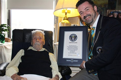 Dr. Alexander Imich confirmed as new world's oldest man at ...