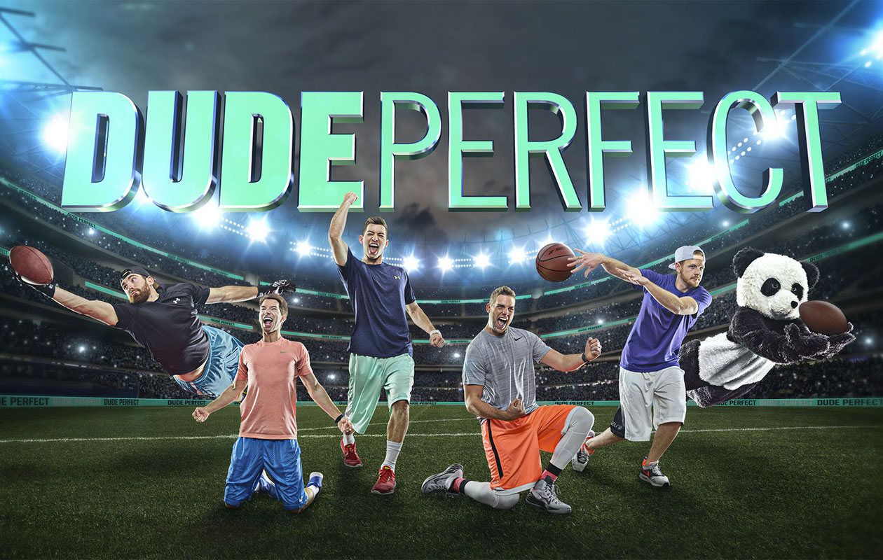 Video: Watch Dude Perfect smash a series of American Football records in new trick shot extravaganza