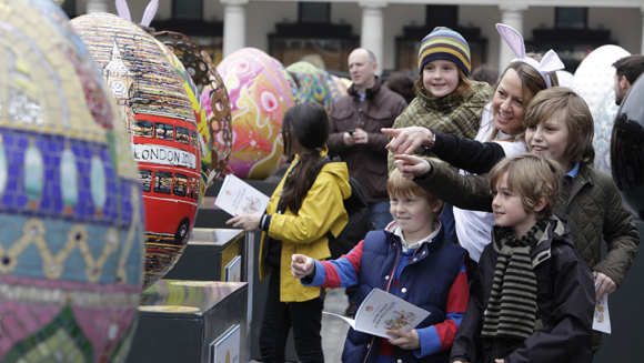 Biggest egg hunt record cracked in London