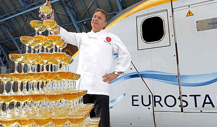 Eurostar Celebrate Anniversary With The World's Largest Champagne Tasting