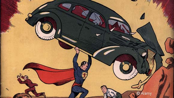 Superman debut Action Comics No. 1 breaks its own most expensive comic record