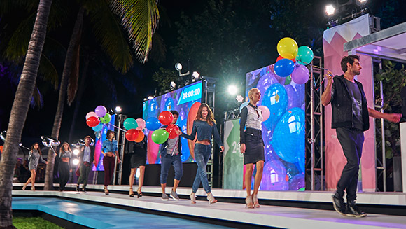 Models hit the runway for 24 hours as Cotton Inc. sets Longest Fashion Show record in Miami