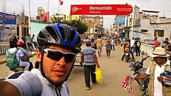 Fastest cycle journey of the Pan-American Highway bienvenido