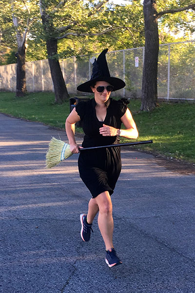 Fastest marathon as a witch