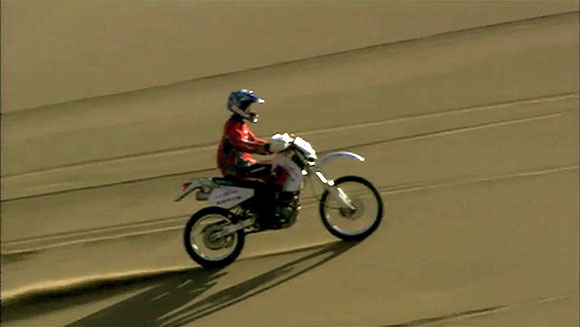 Classics: Fastest time to ascend a sand dune on a motorcycle