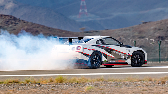 Nissan and D1 Grand Prix champion speed into the record books with fastest vehicle drift ever - watch