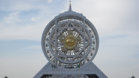 Turkmenistan builds largest indoor Ferris wheel