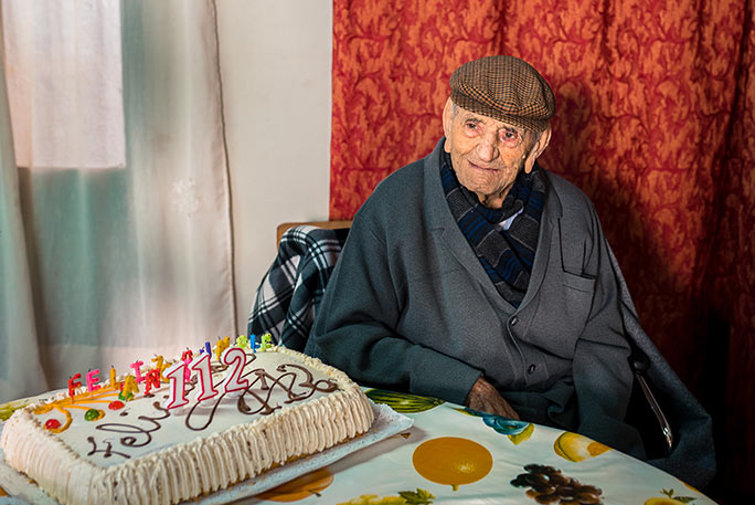 Francisco on his 112th birthday