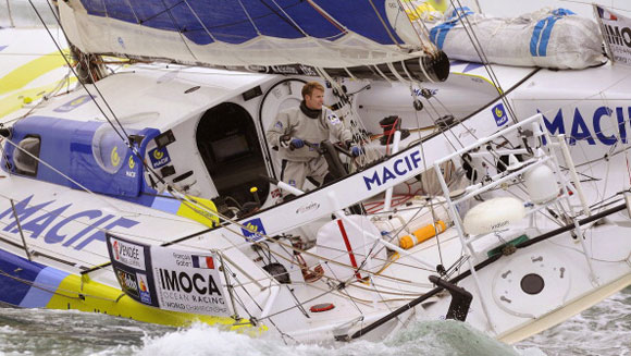 Francois Gabart shatters round-the-world record sailing record with Vendee Globe victory