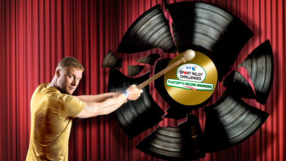 Freddie Flintoff edges closer to Guinness World Record Challenge target