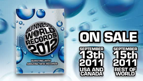 Guinness World Records 2012 edition to feature Augmented Reality