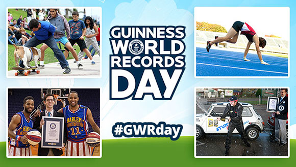 Guinness World Records Day 2015 - As it happened