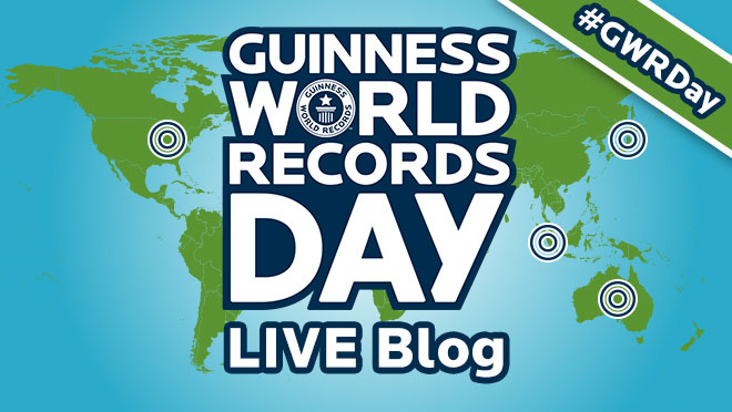 Guinness World Records Day 2016 live blog