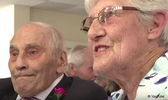Guinness World Records confirms that British newlyweds are oldest couple to get married