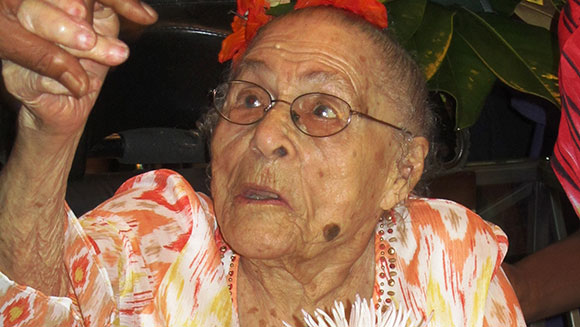Guinness World Records Statement: Gertrude Weaver: 1898-2015
