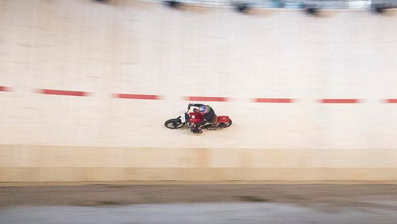 Guy Martin Highest speed on a Wall of Death attempt
